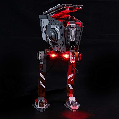 LIGHTAILING Conjunto de Luces (Star Wars Asaltador AT-ST) Modelo de Construcción de Bloques - Kit de luz LED Compatible con Lego 75254(NO Incluido en el Modelo)