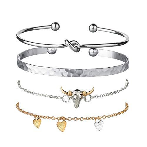 lffopt Bangles Bracelet Gift for Women Sister Bracelets for Women Friendship Bracelet Braclets for Women Cheap Best Friend Bracelet Friendship Bracelets