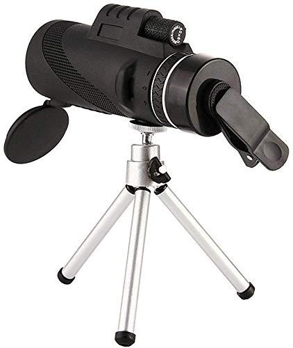 Telescopio Monocular HD 40x60 Zoom Doble sintonización Telescopio de observación de aves con visión nocturna con poca luz Para uso en exteriores Adecuado para viajar Para ver las estrellas Juego de fú