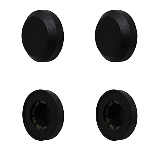 4 Stück Achskappen Starlockkappe Sicherungskappe Kunststoff Achse 20 mm