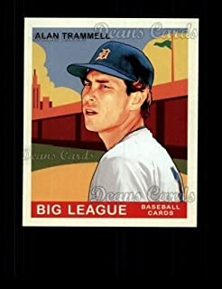 2007 Upper Deck Goudey Green Backs # 210 Alan Trammell Detroit Tigers (Baseball Card) Dean's Cards 8 - NM/MT Tigers