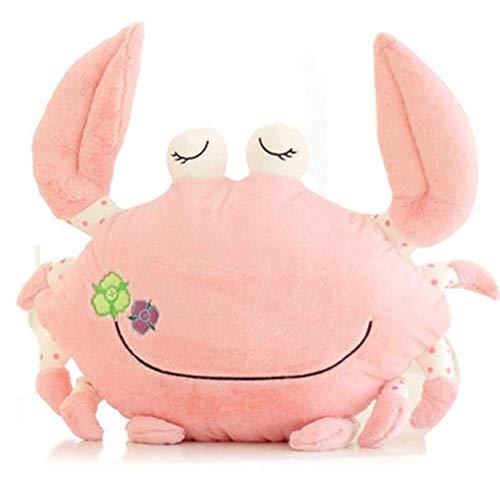 EREL 45 cm Krabbe Plüsch Spielzeug Kissen Kissen Niedliche Kreative Mädchen Weibliche Naturgeburtstagsgeschenk dedu