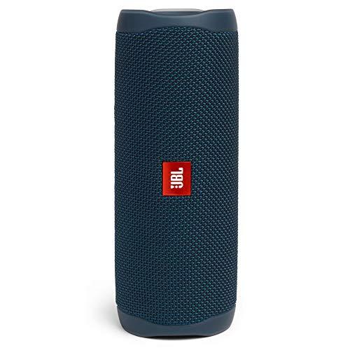 Jbl Flip 5 Altavoz Inalámbrico Portátil con Bluetooth, Speaker Resistente al Agua (Ipx7), Jbl Partyboost, hasta 12H de Reproducción con Sonido de Calidad, Azul