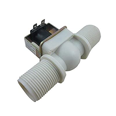 """DIGITEN G1"""" Water Electric Solenoid Valve Normally Closed N/C Water Inlet Flow Switch DC 12V by DIGITEN"""