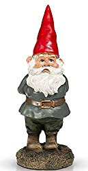 A garden gnome is cute for pottery 9th anniversary gifts for him.