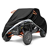 Snow Cover, UTV Cover, Winter Cover with Mirror Covers for Ice, Snow, Frost, UV Protection, Included Storage Bag, Covers for Polaris Ranger,114' L x 59'W x 75'H
