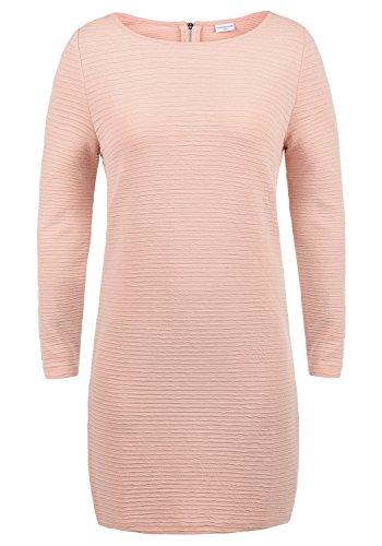 ONLY Greti Damen Sweatkleid Kleid Mit Rundhals Aus Stretch-Material, Größe:M, Farbe:Rose Smoke