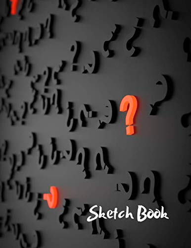 """Sketchbook: Guess Who/Question Mark Themed Artist Book 