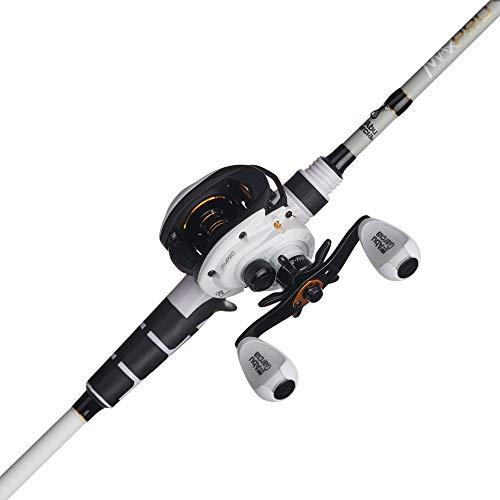 Abu Garcia Max Pro Low Profile Baitcast Reel and Fishing Rod Combo