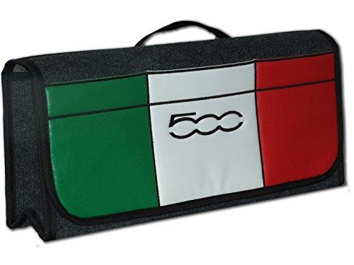 Embroidery King 500 Sport Auto Kofferraum Tidy Organizer Aufbewahrungstasche mit Gesticktem 500