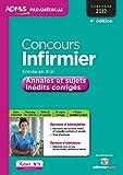 Concours Infirmier - Entrée en IFSI - Annales et sujets inédits corrigés - Concours 2017