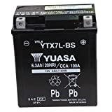【Amazon.co.jp限定】 TAIWAN YUASA 【台湾ユアサ】 AGM-BIKE-BATTERY クロス付 YTX7L-BS