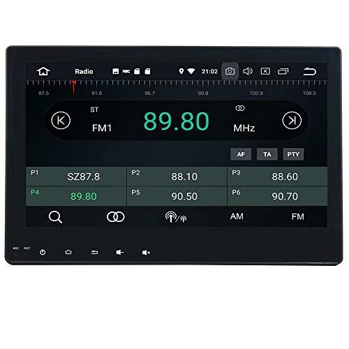 ROADYAKO 2Din Head Radio pour Toyota Hilux 2016 2017 Anroid 9.0 Octa Core Stéréo de Voiture avec la Navigation GPS 3G WiFi Lien de Miroir RDS FM AM Bluetooth