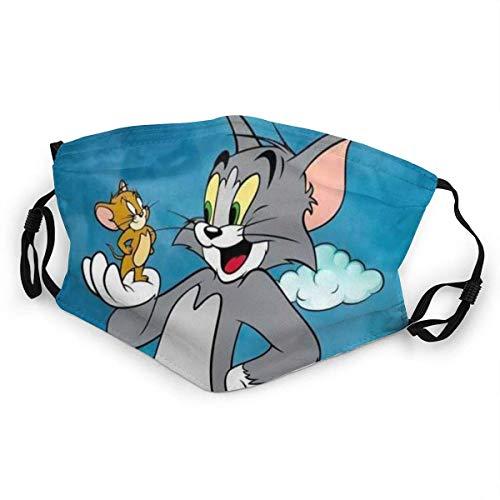 Tom und Jerry freundlicher Mundschutz Anti-Staub waschbar wiederverwendbarer Mundschutz Modedesign für Kinder Jungen Mädchen Teenager