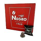100 cápsulas compatibles con Nespresso. Empaquetado en Italia, Made in Italy. Mezcla de sabor fuerte (intensidad 10).