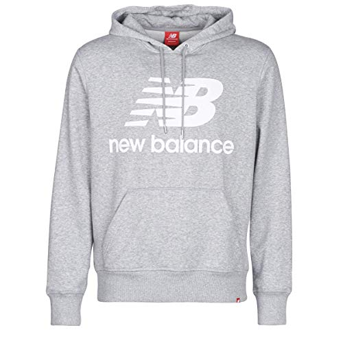New Balance Essentials Sudadera con Capucha, Hombre, Verde (AG Athletic Gre), Extra-Large