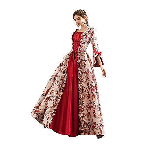 KEMAO - Disfraz de Rococo victoriano para mujer -  -  Medium:altura  65/67