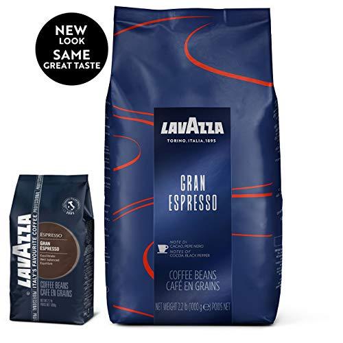 Lavazza Gran Espresso Whole Bean Coffee Blend, Medium Espresso Roast, Bag 2.2 Pound (Pack of 1)