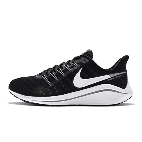 Nike Air Zoom Vomero 14 Mens Running ShoesAh7857-011 Size 11, Black/White-thunder Grey