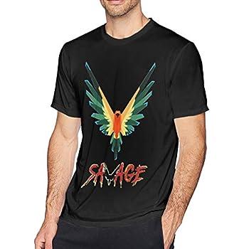 AsziSham Logan Paul Maverick Men s O-Neck T Shirts Short Sleeve Tee Black