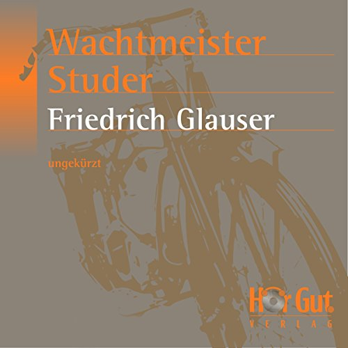 Wachtmeister Studer audiobook cover art