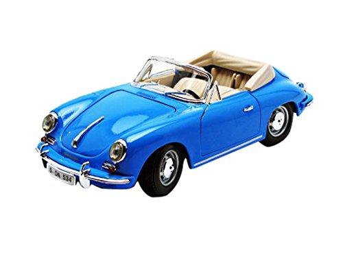 Bburago - 12025bl - Porsche - 356 B - Cabriolet - 1961 - Échelle 1/18