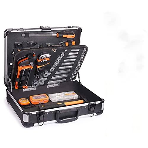 Caja de Herramientas, 136 Pcs, Maletín de Herramientas de Aluminio, Juego de...