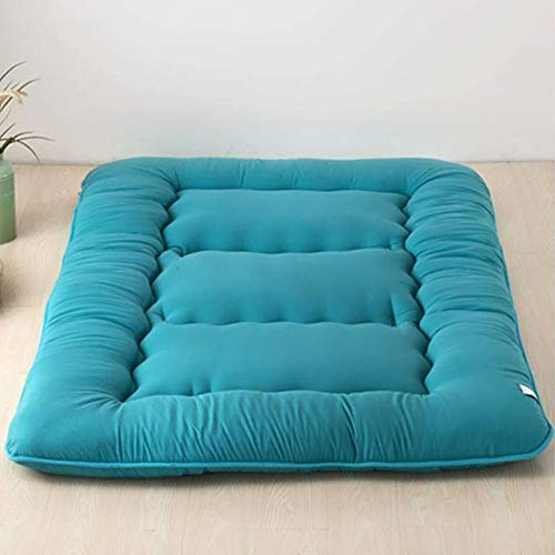 Solid Color Floor Tatami Mattress Mat Japanese Floor Mattress Foldable Double Sleeping Tatami Floor Mat For Bedroom Living Room Dorm Room A 90×200cm(35.4×78inch)