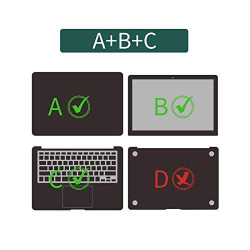 Calcomanías de vinilo para ordenador portátil de 11.6', 12', 13.3', 15', 14' 15.6', ABC-Pro de 13' A1278