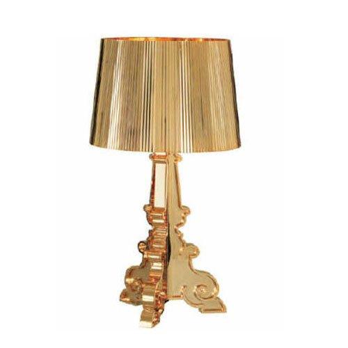 Kartell 907400 Leuchte Bourgie metallisiert, gold