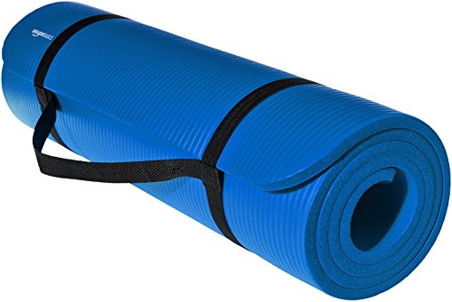 Amazon Basics Extra Thick Exercise Yoga Gym Floor Mat with