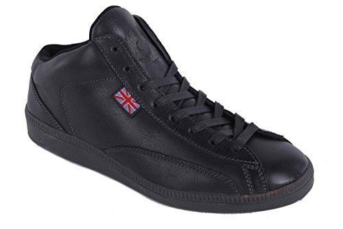 Belstaff Damen Schuhe Sneaker Schnürschuhe Echtleder Schwarz Gr. 37#18 (37)