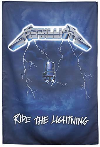 Ride the Lightning Textil Poster