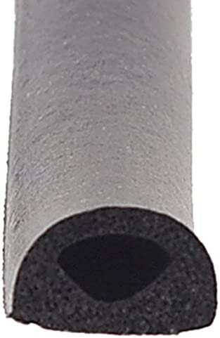 AP Products 018 224 Black 1 2 x 3 8 Rubber D Seal with Tape product image