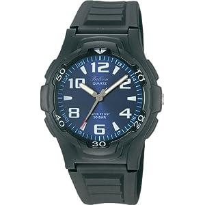 [シチズン Q&Q] 腕時計 アナログ 防水 ウレタンベルト VP84J850 メンズ ブルー