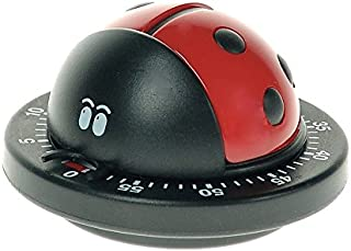 Bengt Ek Design Timer Red Ladybird Timer, Kitchen Helper, Kitchen Timer, Egg Timer, 616R