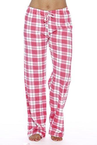Just Love Women Pajama Pants/Sleepwear,Pink - Plaid,Medium