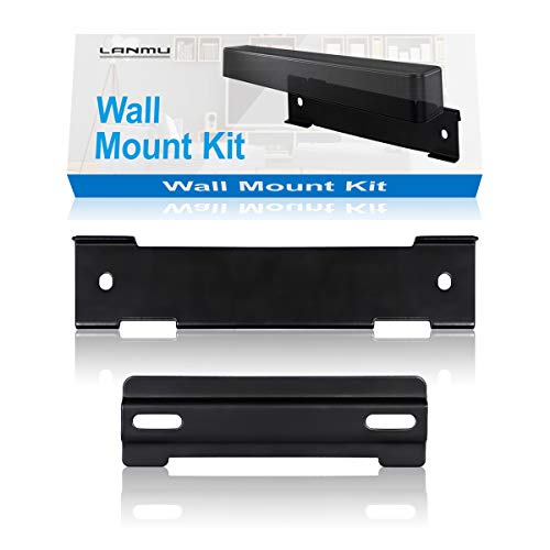 Speaker Holder, Lanmuâ kit di montaggio a parete per Bose wb-120 Soundtouch, solo 5 sound bar, Cinemate 120 (nero)
