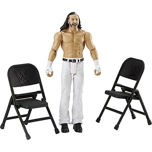 WWE Wrekkin' Action Figure con Accessori, Giocattolo per Bambini 6+ Anni, 15 cm, GGP05