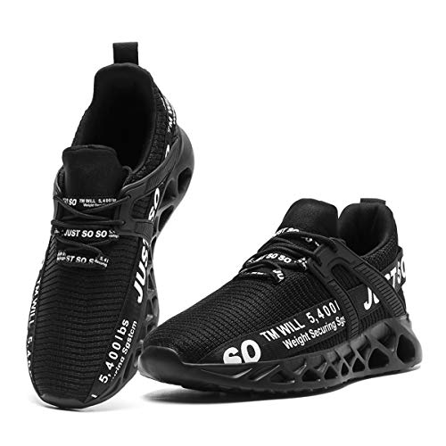 CAIQDM Zapatillas Hombre Deportivas Running Bambas Deporte Tenis Casual Gimnasia Ligero Sneakers Transpirable Correr Fitness AtléTico Caminar Zapatos