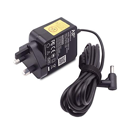 Wikiparts* New 33W 19V 1.75A UK Plug Charger Replacement For Asus E203M Laptop Power Supply Unit Ac Adapter With 4.0MM x 1.35MM Pin Size