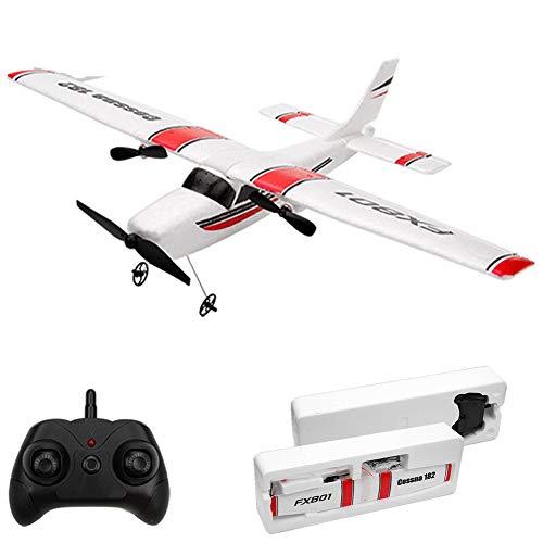 Izzya Rc Flugzeug DIY EPP Schaum RC Drone, 2.4GHz Ferngesteuertes Flugzeug Fernbedienung Flugzeug Modelflugzeuge, für Erwachsene and Kinder