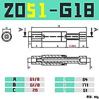 BXU-BG GIMATIC VGN1010 / 1421回転防止バッファハードウェアCRG VFN1011-M5 / 1436-G10 (Color : VFN2051 G18)