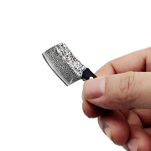 Kayard EDC Tool Mini Knife, Small Pocket Keychain Neck Blade Chef Knife