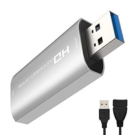 【9/29まで】CABLETIME USB3.0接続HDMI接続キャプチャボード 1,494円送料無料!