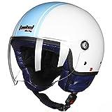 Casco moto Tanked Racing Moto Casco moto fuoristrada Half Face Caschi moto Motocross Cappucci protettivi XXL