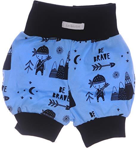La Bortini Shorts Kurze Babyhose Pumphose Shorty Höschen Pumpshorts 50 56 62 68 74 80 86 92 (80)