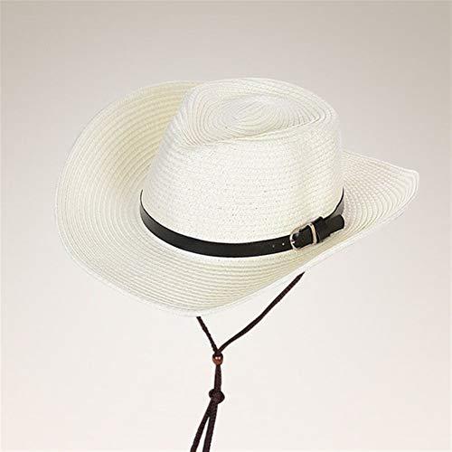 GUI Nuevo Verano Sombreros del Sombrero de los Hombres de Paja Sombrero...