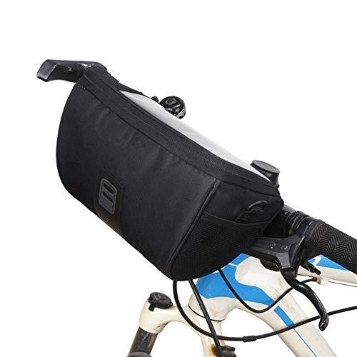Z-Y Fietstas Waterbestendig berg Voorzijde MTB Bike Van Regenjassen In Water Tassen touchscreen telefoon Bag Cycling Road Tube stuurtas Cylinder #z