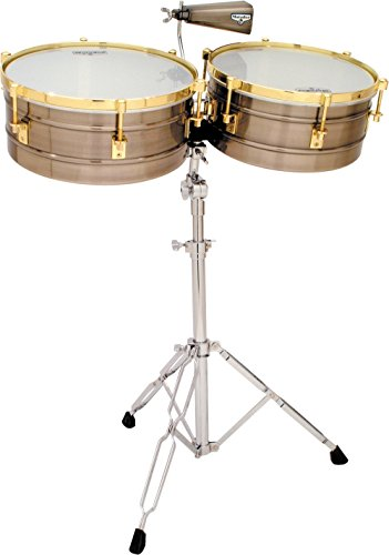 LP Latin Percussion M257-BNG - Timbales con cascos de acero